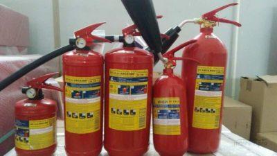 Как выбрать огнетушитель для производства?