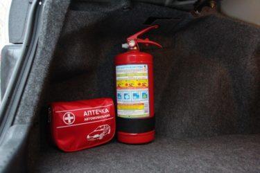 Какой огнетушитель обязан быть в легковом автомобиле